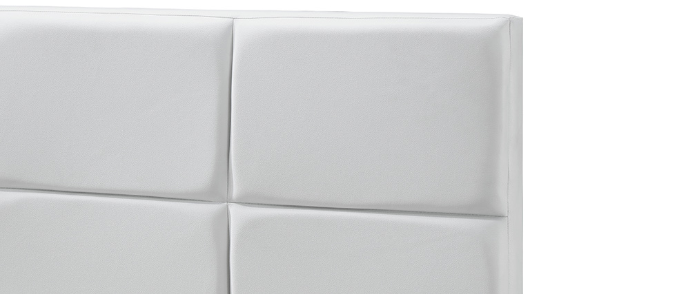 SOLAL 160x200cm white adult bed