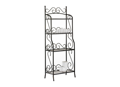 Steel 4 Tier Shelving Unit Florence