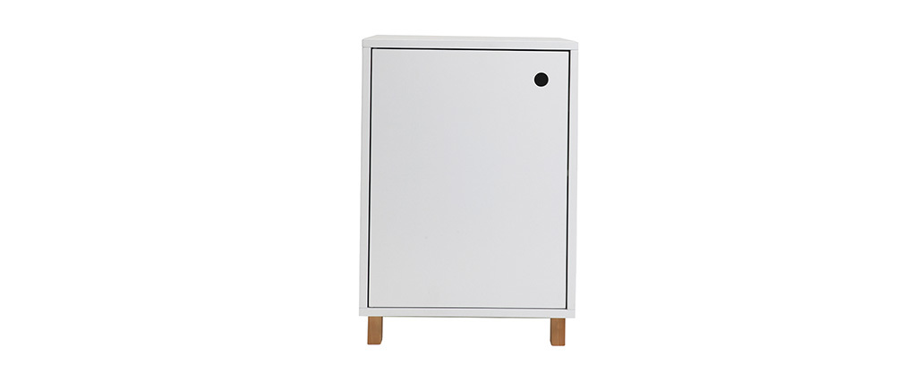 STOKA Matte White Storage Box