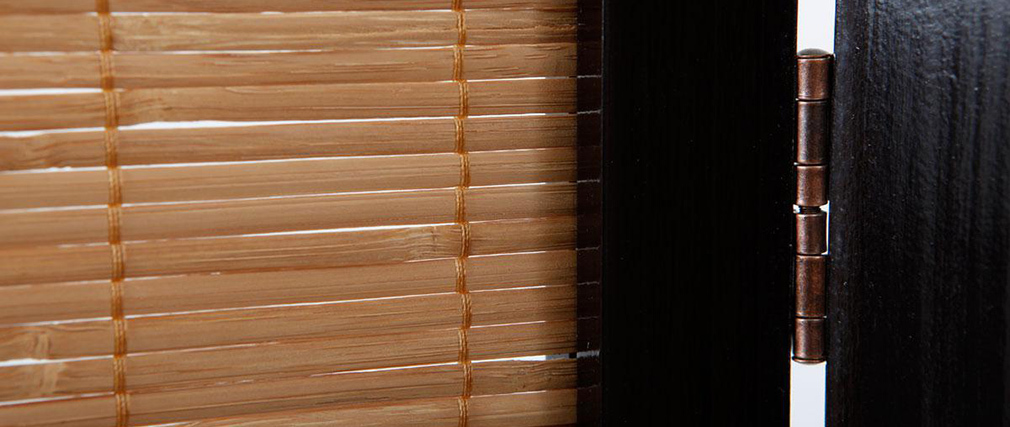 SUWA Asian Style Bamboo and Wood Screen