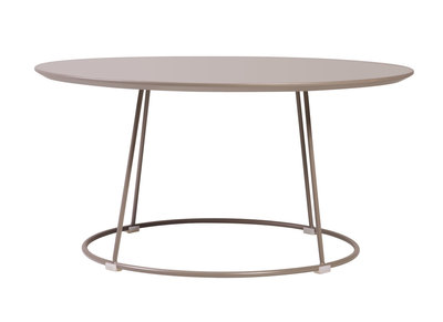 Taupe Grey Modern Coffee Table KALY