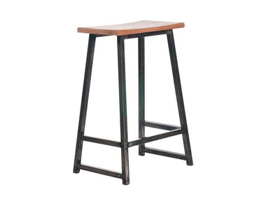 Teak Indoor/Outdoor Bar Stool AKENO