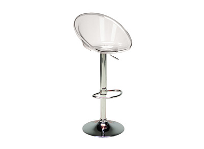 Transparent Bar Stool MOPPY