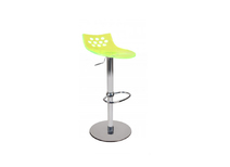 Transparent yellow kitchen / bar stool up to you Magellan