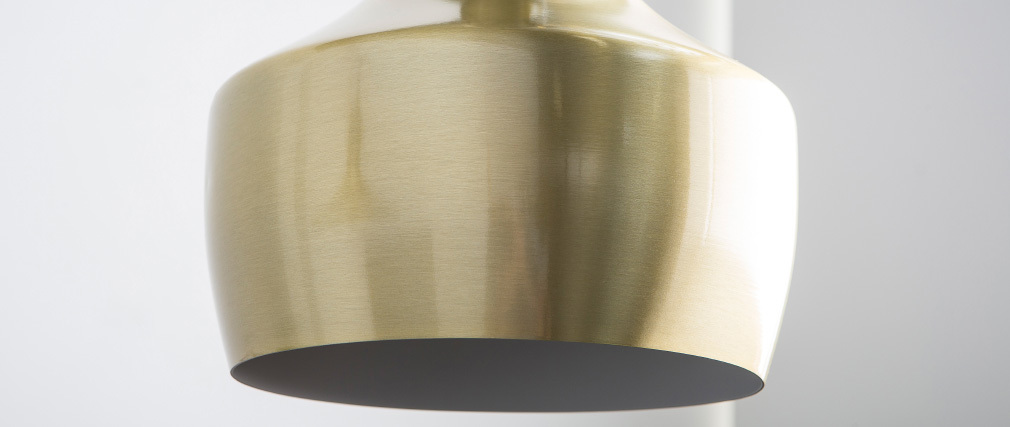 TUBAE gold metal pendant lamp 25cm