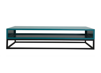 Turquoise Modern Coffee Table SURFACE