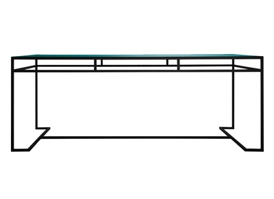 Turquoise Modern Dining Table SURFACE