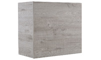 TV storage combination COLORED Square Grey Wood