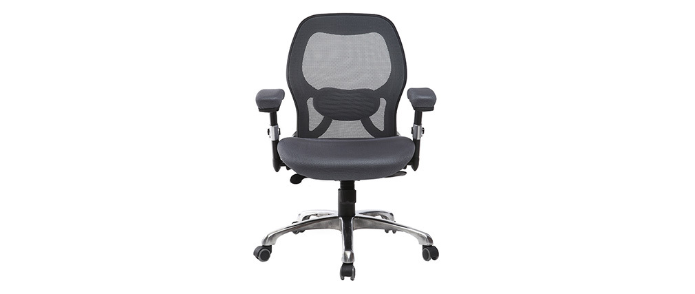 ULTIMATE V2 grey ergonomic office chair