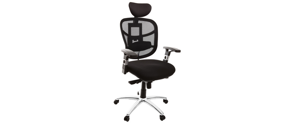 UP TO YOU black ergonomic office chair