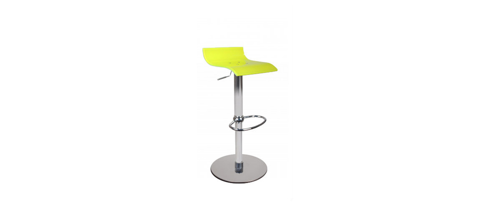 VEGA bar stool - yellow