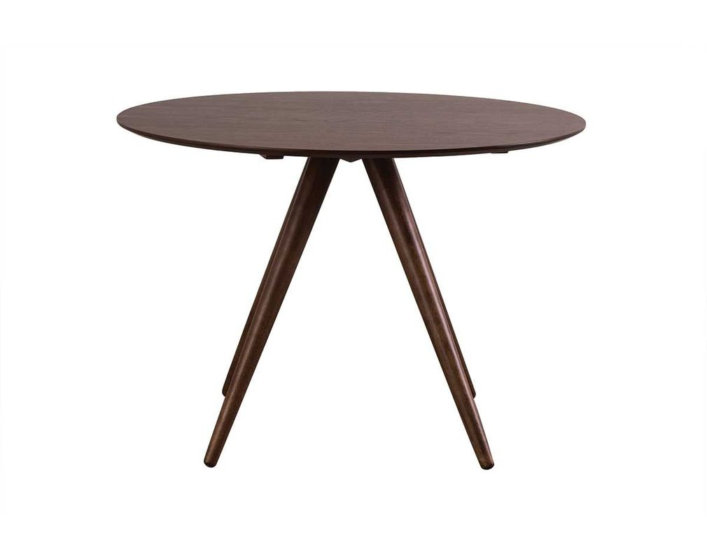 WALFORD Walnut Modern Round Dining Table D106