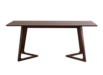 Walnut Modern Dining Table 180cm JUKE