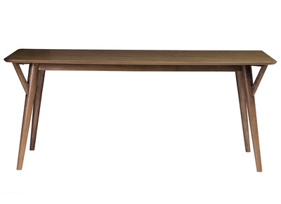 Walnut Modern Dining Table WALFORD