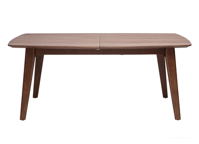 Walnut Modern Extending Dining Table FIFTIES