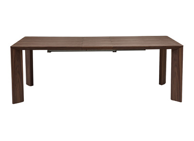 Walnut Modern Extending Dining Table LOUNA