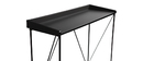 WALT Black and Grey Modern Console Table