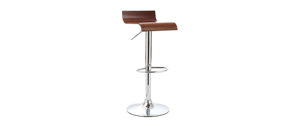 Wenge Wood Bar/Kitchen Stool SURF V2