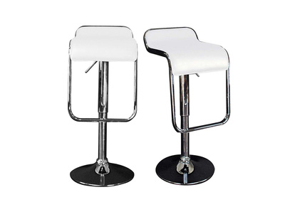 White Bar/Kitchen Stool ANDROMEDE (set of 2)