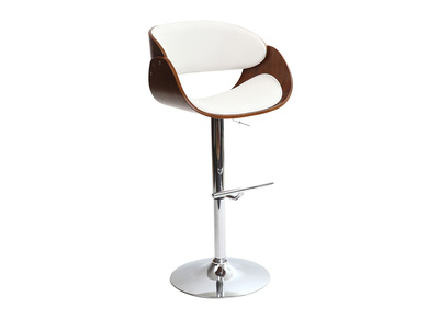 White Bar Stool BENT