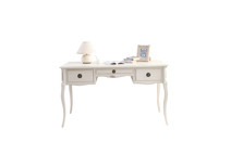 White baroque desk BIANCA