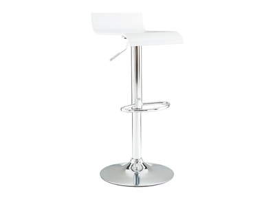 White Modern Bar/Kitchen Stool SURF