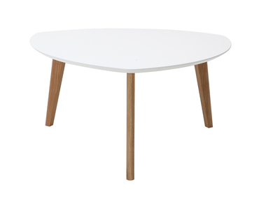 White Modern Coffee Table 80 cm EKKA