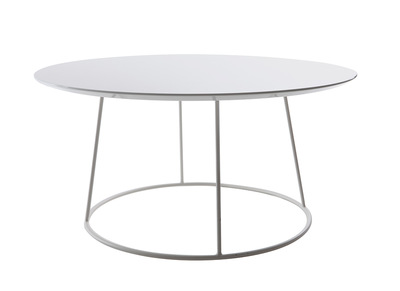 White Modern Coffee Table KALY
