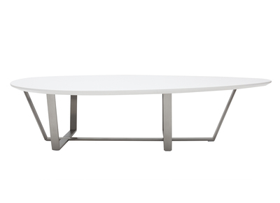 White Modern Coffee Table MILLA
