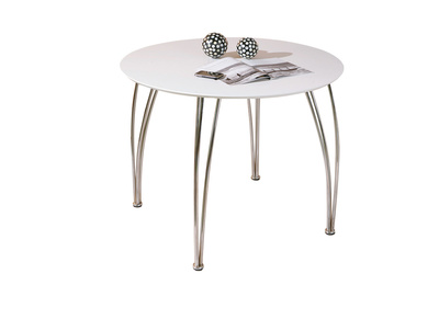 White Modern Dining Table OLENA