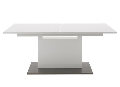 White Modern Extending Dining Table ARISTO