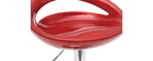 Wine Red Modern Bar/ Kitchen Stool COMET (set of 2)