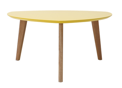 Yellow Modern Coffee Table 80 cm EKKA